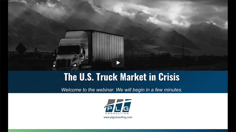 US Truck Market In Crisis Video Image