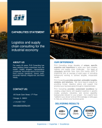PLG Consulting Capabilities Statement_Rail_Published 12012020